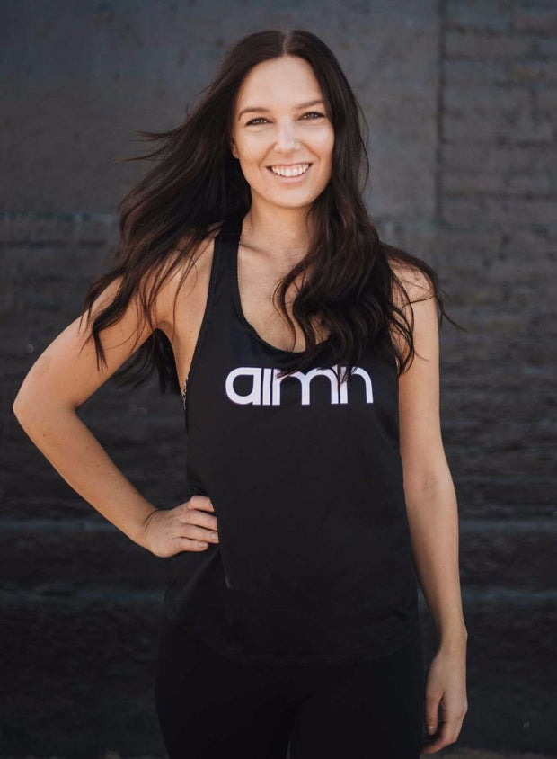 Black Loose Fit Singlet