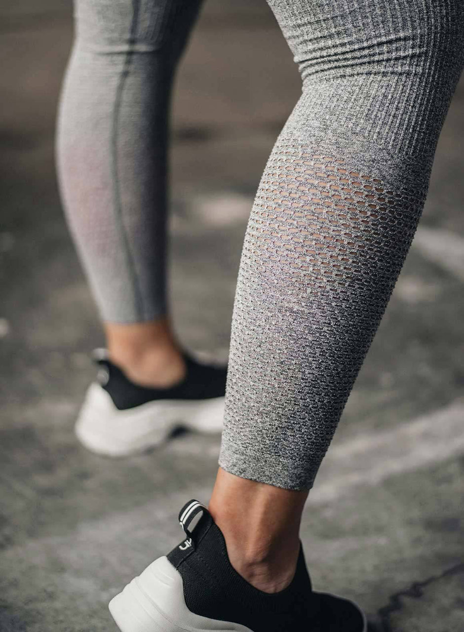 GREY MELANGE BOOST TIGHTS