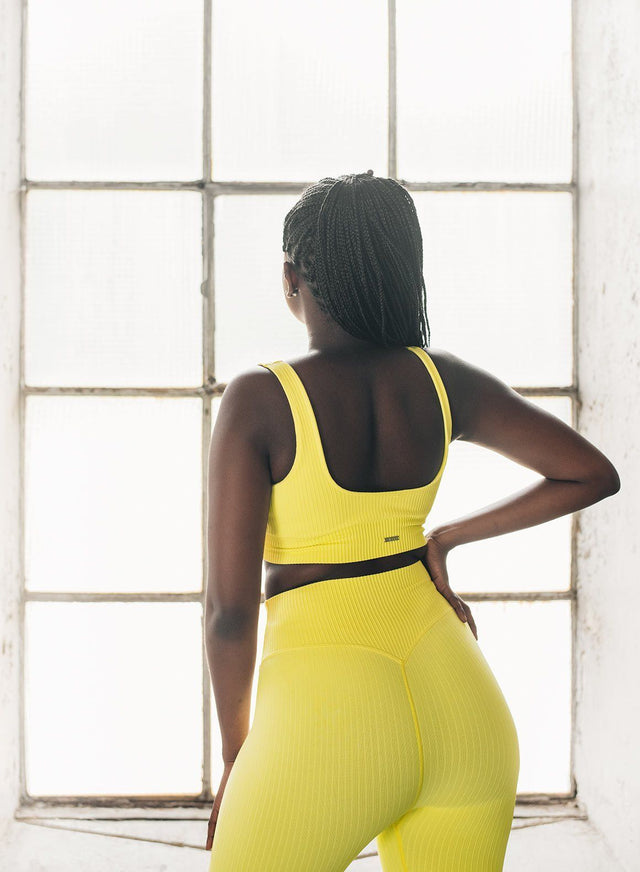SUNSHINE RIBBED SEAMLESS BRA aim'n sportswear