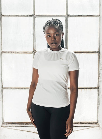 WHITE FLOW T-SHIRT aim'n sportswear