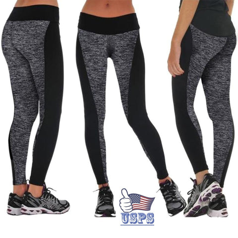 High Waisted Stretched Leggings