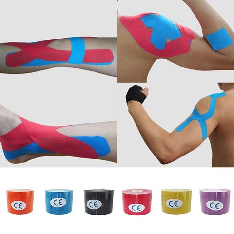 FREE! 1 Roll Kinesiology Muscle Tape 2.5cm/3.8cm/5cm X 5m