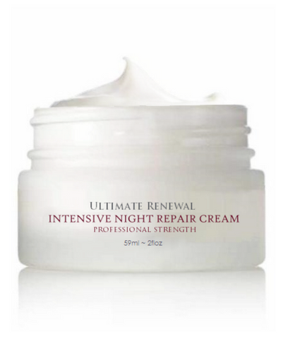 Ultimate Renewal Intensive Night Repair Cream with Heliohydroplex 2 Oz.