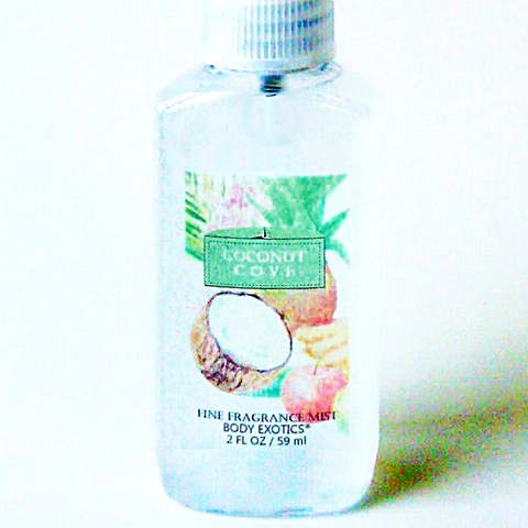 Coconut Cove Fine Fragrance Mist Perfume by Body Exotics 2 Oz.
