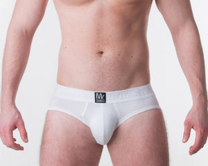 White Brief - Mr Smith's Underwear - Premium British Men's Underwear