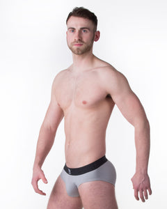 Silver Brief - Mr Smith's Underwear - Premium British Men's Underwear