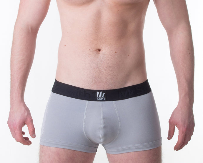 Silver Trunk - Mr Smith's Underwear - Premium British Men's Underwear
