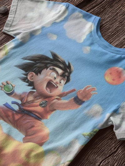 Polerones estampados Poleras estampadas Anime Dragon Ball Goku Vegeta Shohoku Slam Dunk Shingeki Fullmetal Alchemist Flamel Onepiece Luffy Hunter X Naruto Nanatsu No Taizai Sailor Moon Siete Pecados Capitales