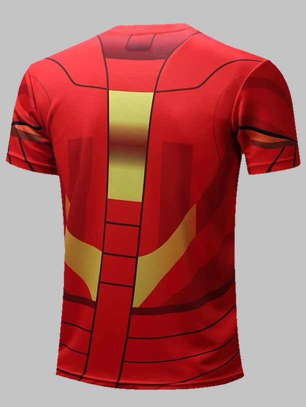 Polera Marvel: Iron Man Red