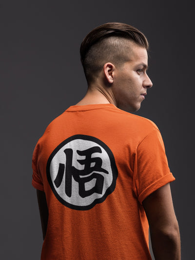 Polera Dragon Ball: Kanji Go (520928493615)