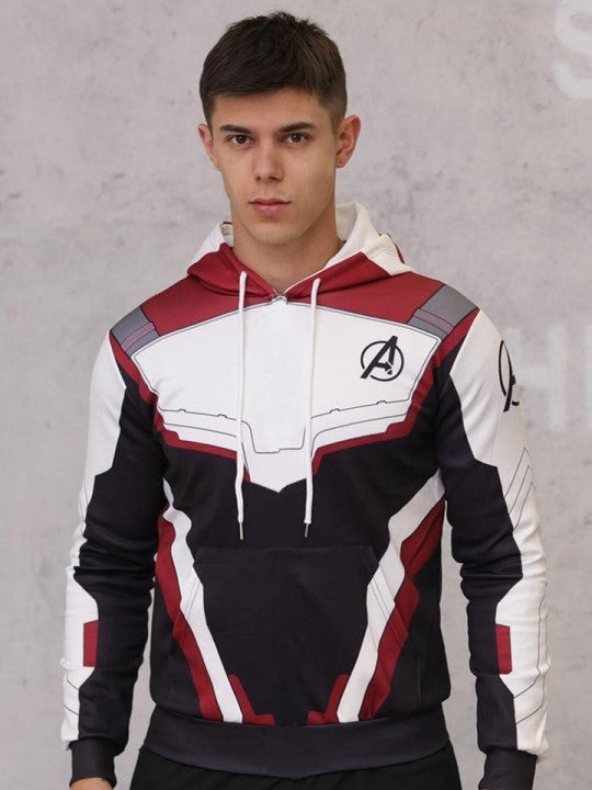 Polerones y poleras estampados Canguro Algodón de Hombre Mujer y Niño para Regalo. Superheroes Marvel DC Comics Avengers Cuantico Quantum Capitan America Iron Man Spiderman Hombre Araña Deadpool Baby Groot Superman Batman Mujer Maravilla Joker Guason Flash