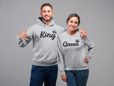 Pack de Polerones de Enamorados: King & Queen (1347696295983)