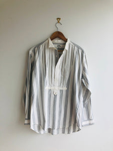 Domon Striped Bib Shirt