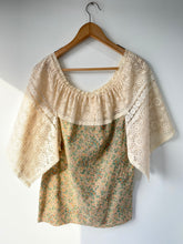 Vintage Liberty and Lace Top