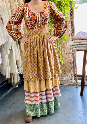 Vintage Tiered Prairie Dress
