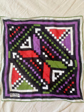 Vintage Lanvin Paris Cotton Scarf - The Curatorial Dept.