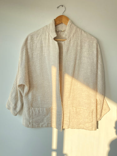 Vintage Ashley Brooke Nubby Linen Blazer