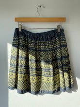 Vintage Embroidered Indigo Skirt - The Curatorial Dept.