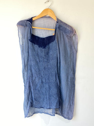 Handmade Top by Fiber Artist Tanya Aguiñiga - The Curatorial Dept.