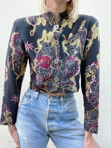 Vintage Sue Wong Silk Blouse