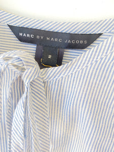 Marc Jacobs Striped Top with Bow - The Curatorial Dept.