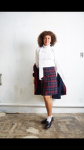 Vintage Plaid Skirt - The Curatorial Dept.