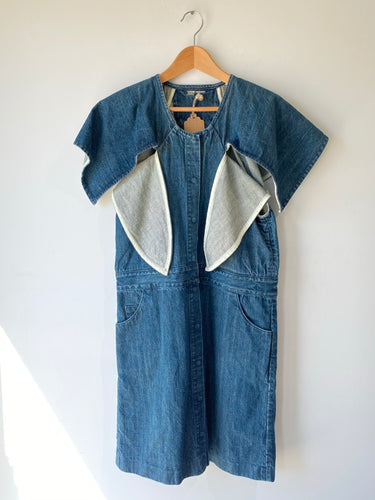 Cosmic Wonder Light Source Denim Dress - The Curatorial Dept.