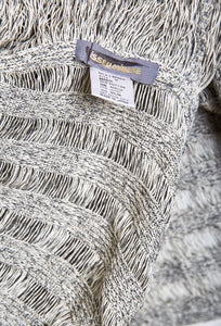 Vintage Issey Miyake 'Partly Unwoven for Openness' Cardigan c. 1983 - The Curatorial Dept.
