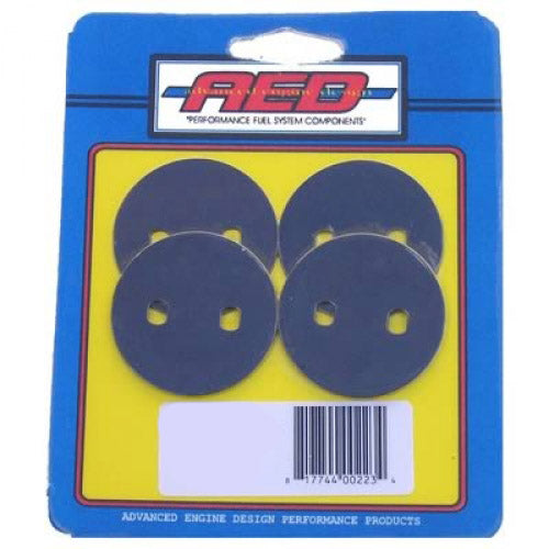 1-11/16 Throttle Plates Thin (4pk) AED6062 ADVANCED ENGINE DESIGN
