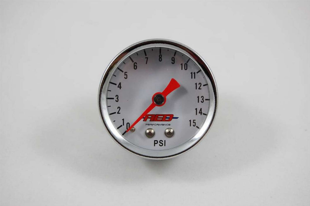 1-1/2 Fuel Pressure Gauge 0-15psi AED6100 ADVANCED ENGINE DESIGN