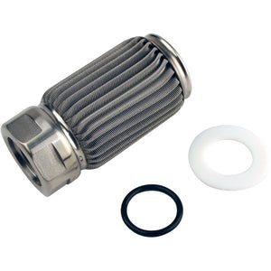 10 -ORB Fuel Filter Element 100 Mircon S/S AFS12606 AEROMOTIVE
