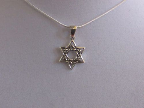Woven Star Of David