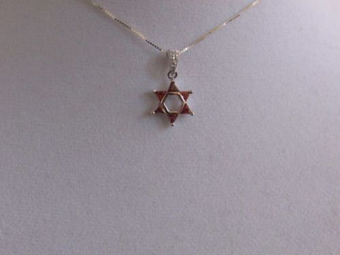 Red Stone Star Of David