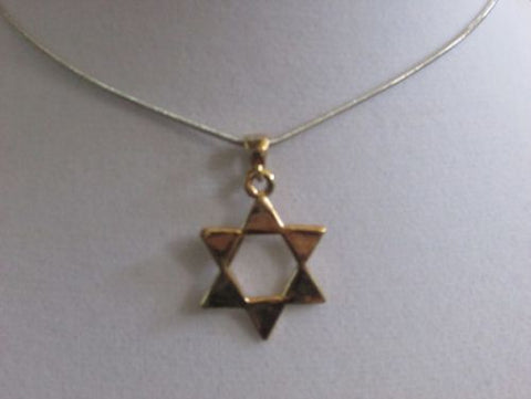 Large Gold Star Of David