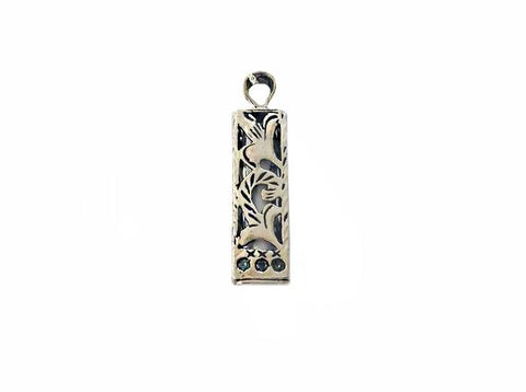 Square Mezuzah with scroll