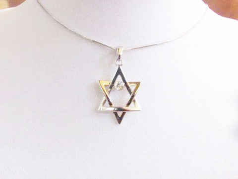 Gold & Silver Star Of David