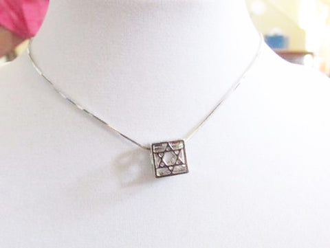 3D Cubed Star Of David