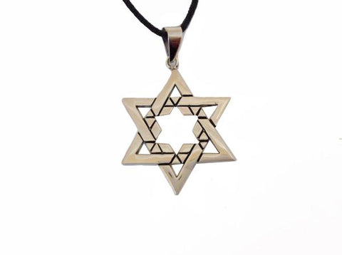 Wall Star of David on a chain