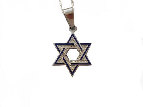 Star of David with Blue