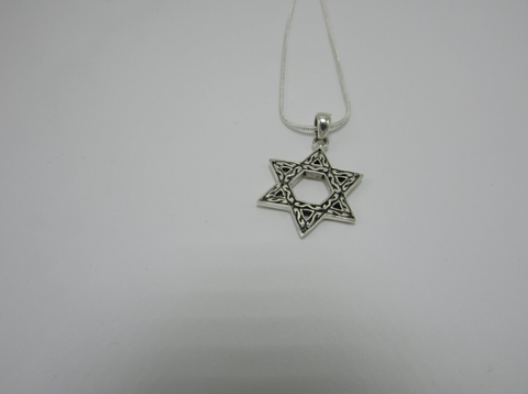 Abstract Star Of David