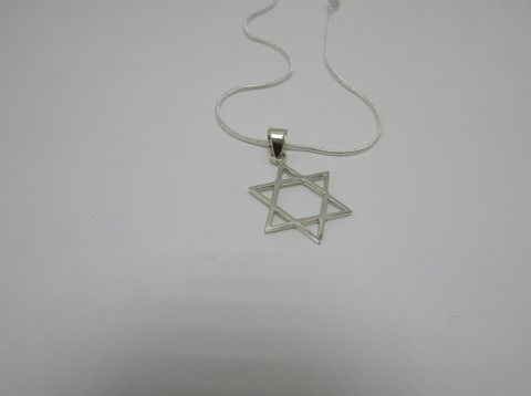 Big Star Of David Pendant