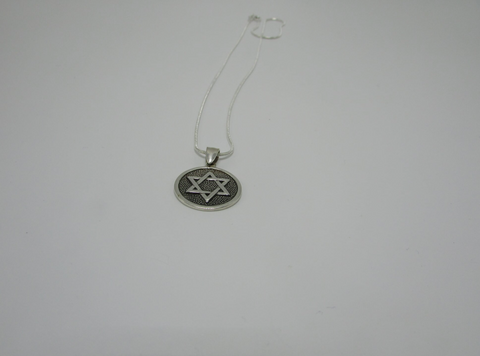 3D Printed Star Of David Pendant