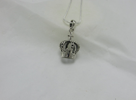 Christian Crown Pendant