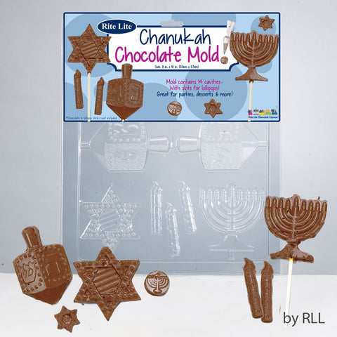 Chanukah Chocolate Mold