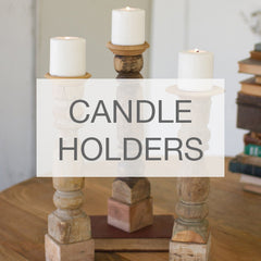 Snapdragon Home Candle Holders