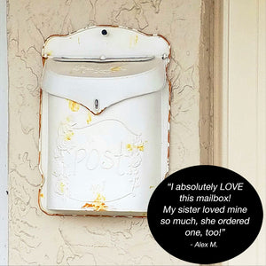 Vintage Metal Mailbox Customer Review