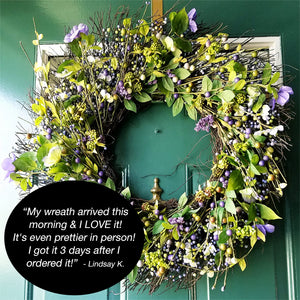 Country Wreath Customer Review