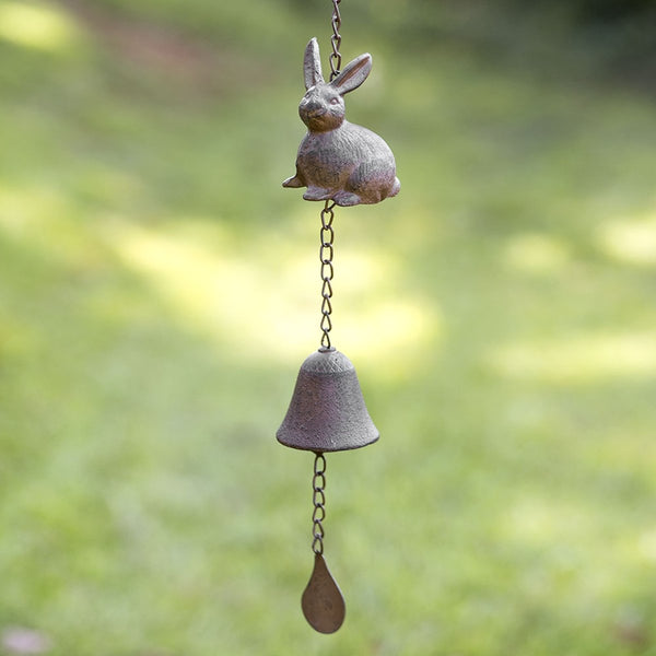 BUNNY WIND CHIME SET OF TWO
