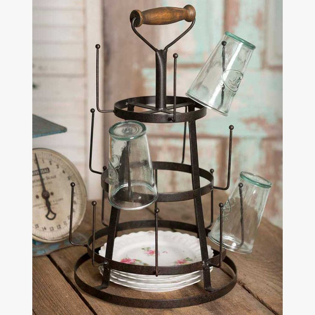 BOTTLE DRYER TABLETOP CADDY