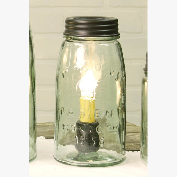 QUART MASON JAR LAMP